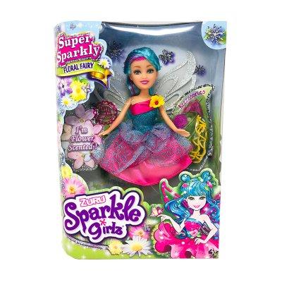 Muñeca Hada Floral Fairy Magical Sparkle Girlz