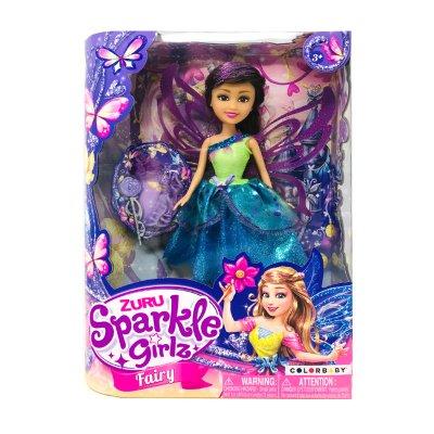Wholesaler of Muñeca Sparkle Girlz Fairy - azul