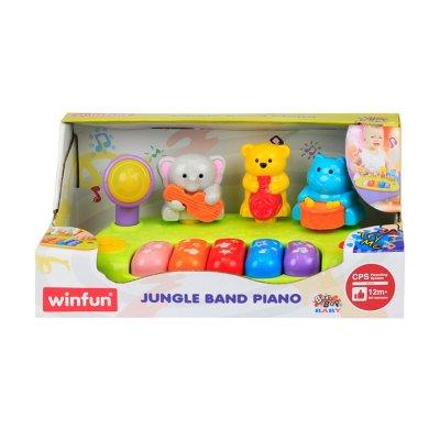 Juguete Piano animales de la jungla c/sonido WinFun