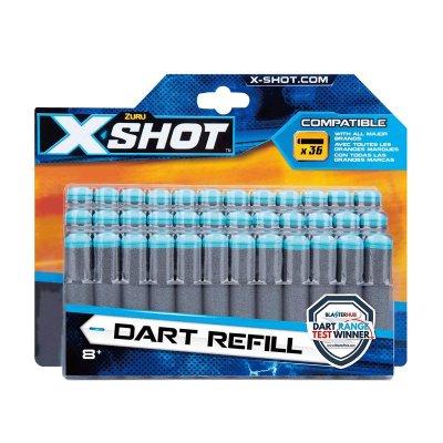 Recarga de 36 dardos X Shot Dart Refill