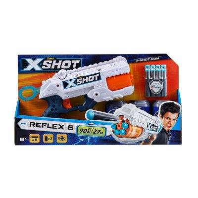 Wholesaler of Playset Blaster X Shot Reflex 6 c/dardos 40cm