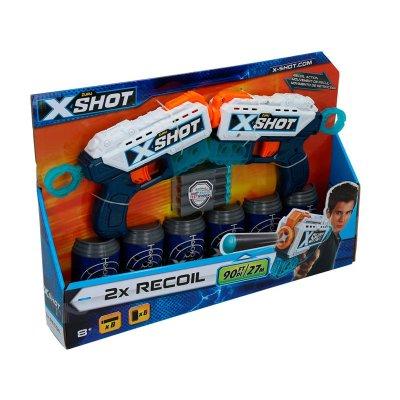Playset Blaster X Shot 2 Recoil c/dardos