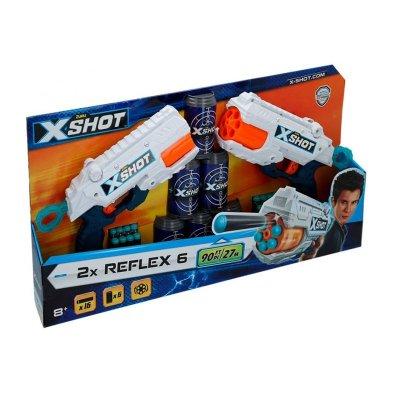 Wholesaler of Playset Blaster X Shot 2 Reflex 6