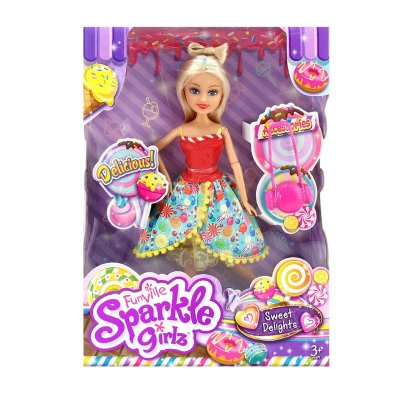 Muñeca Candi Sparkle Girlz Sweet Delights