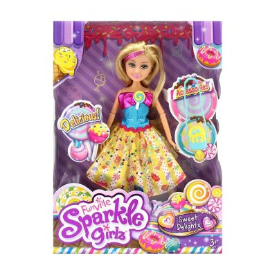 Muñeca Lolly Sparkle Girlz Sweet Delights