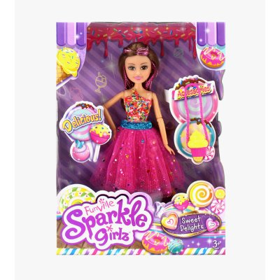 Muñeca Sprinkles Sparkle Girlz Sweet Delights