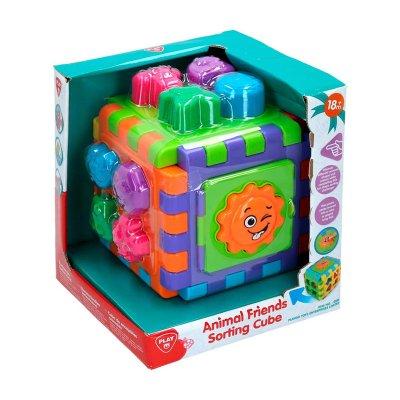 Juego Cubo de encajables animajes