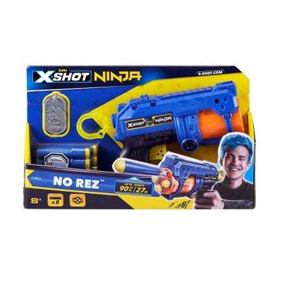 Playset Blaster X Shot Ninja c/dardos 21cm
