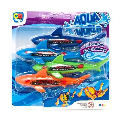 Juego acuático tiburones Aqua World Cb Toys