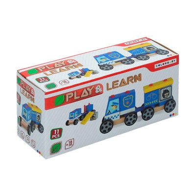 Wholesaler of Juguete Coche policía Play & Learn