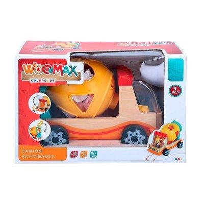 Juego Camión Actividades Woodmax