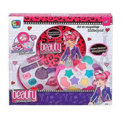 Set de maquillaje estuche Beauty Fashion Girl