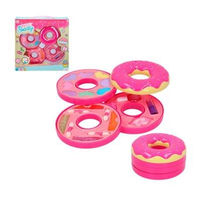 Set de maquillaje estuche Sweet Beauty Donut