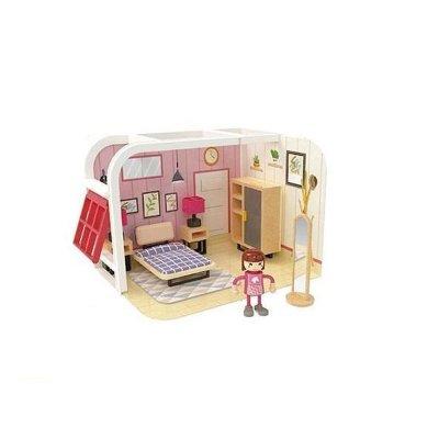 Wholesaler of Juguete casa muñecas Woomax - dormitorio