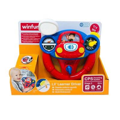 Juguete volante musical con luz WinFun