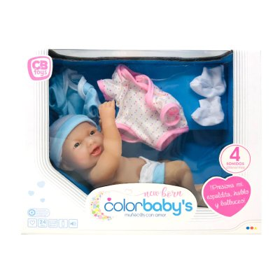 Muñeca New Born CBtoys