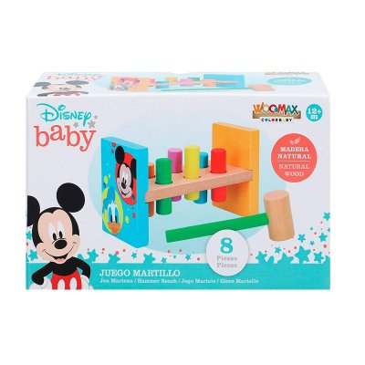Juego martillo Disney Woodmax