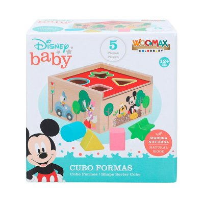 Cubo formas Disney Woodmax
