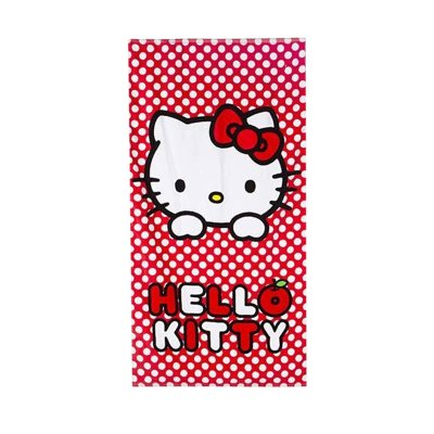 Toalla algodón Hello Kitty