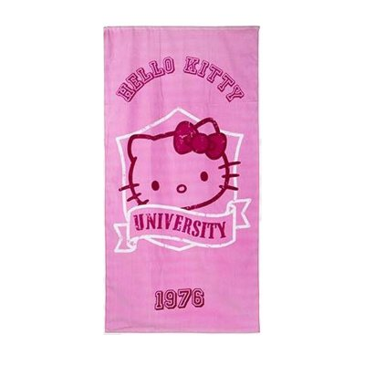 Toalla algodón Hello Kitty University 1976