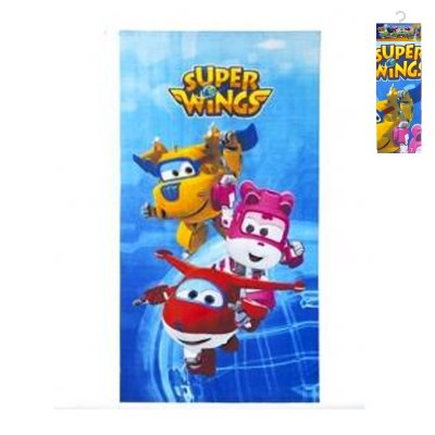 Wholesaler of Toalla microfibra Super Wings 3 personajes
