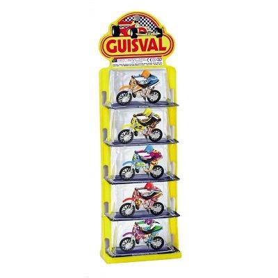 Miniaturas motos Motocross escala 1:22