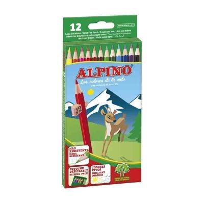 Lápices Alpino 12 colores