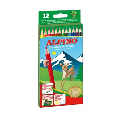Wholesaler of Lápices Alpino 12 colores