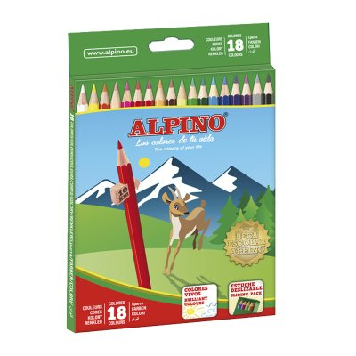Wholesaler of Lápices Alpino 18 colores