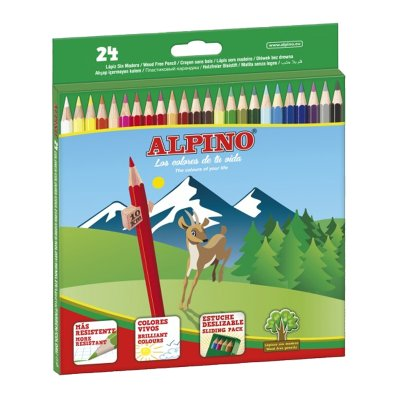Wholesaler of Lápices Alpino 24 colores