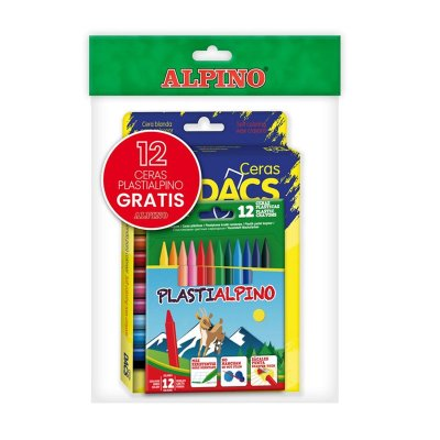 Wholesaler of Pack 24 ceras Dacs + 12 ceras Plastialpino Alpino