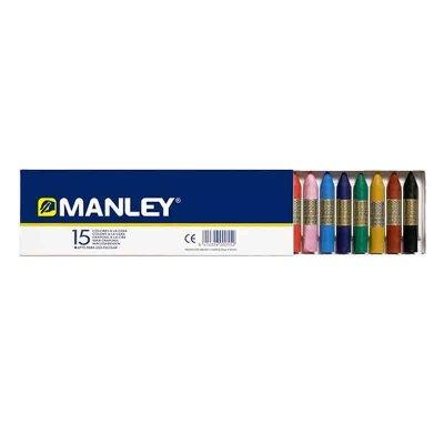 Ceras Manley surtido 15 colores