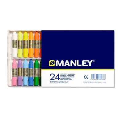 Distribuidor mayorista de Ceras Manley surtido 24 colores