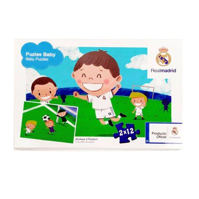Baby Puzzle Real Madrid FC 2x12pzs