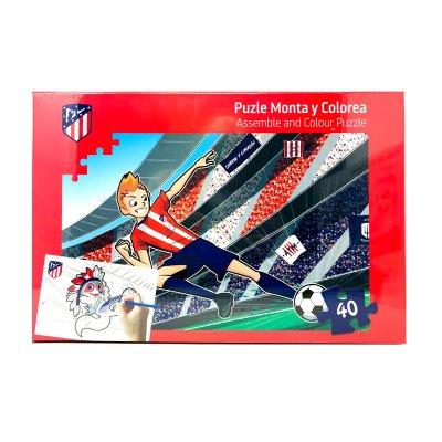 Wholesaler of Puzzle colorear Atlético de Madrid 40pzs - modelo 2