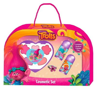 Set cosméticos 8 piezas Trolls