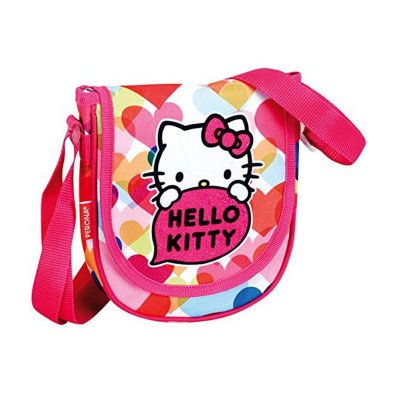 Bandolera bolso Hello Kitty Glitter