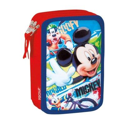 Plumier triple Mickey Mouse Disney 20cm