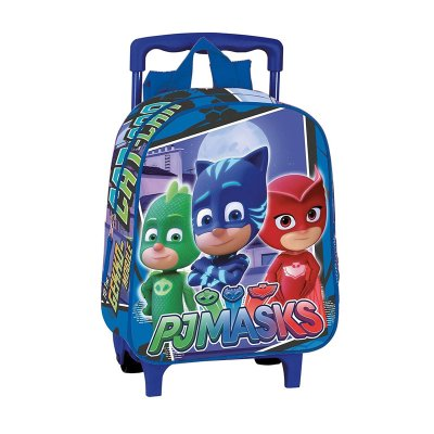 Mochila Trolley PJ Masks Team