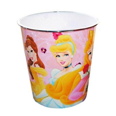 Papelera plástico Princesas Disney 23cm