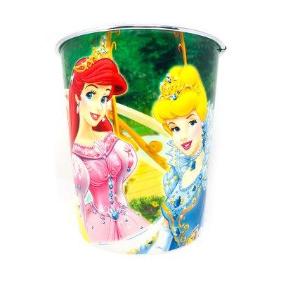 Papelera plástico Princesas Disney 22cm