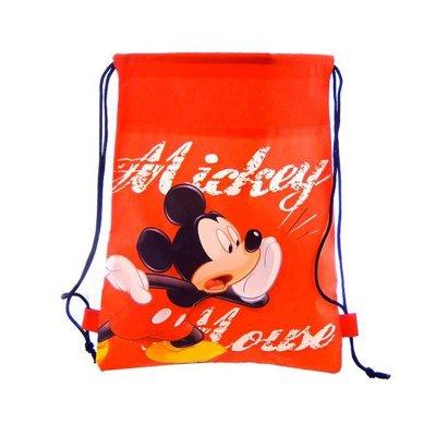 Saco pequeño Mickey Mouse 35cm - rojo