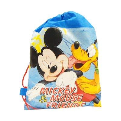 Saco pequeño Mickey Mouse 35cm - azul