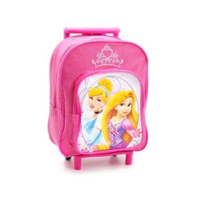 Mochila Trolley 28cm Princesas Disney