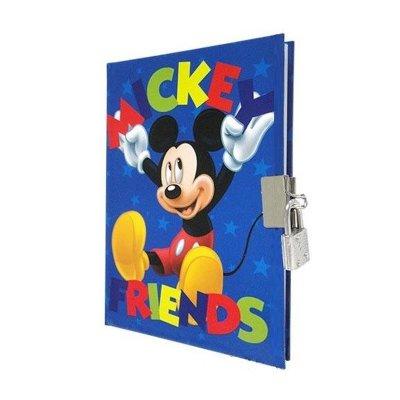 Wholesaler of Mini diario con candado Mickey Mouse