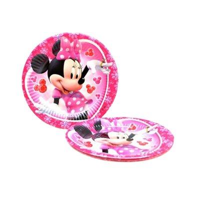 Wholesaler of 8 platos desechables 20cm Minnie Mouse
