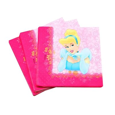 Wholesaler of Paquete de 20 servilletas 33x33cm doble capa Princesas Disney