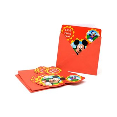 Wholesaler of Juego 6 invitaciones con sobre Mickey Mouse