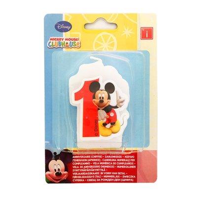 Vela número 1 Mickey Mouse