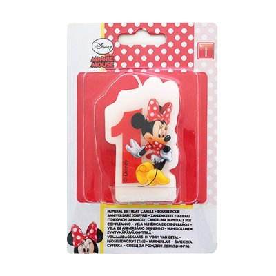 Wholesaler of Vela número 1 Minnie Mouse